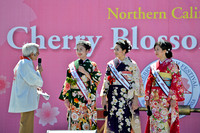 2015 Cherry Blossom Queen and Court