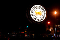 Famous Fisherman's Wharf of San Francisco sign