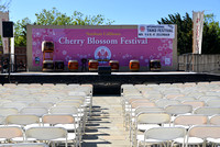Northern California Cherry Blossom Festival stage