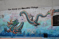 Chinese Dragon visits The Store with Beautiful Things