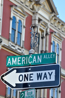 American Alley <-- One Way