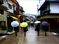 Rainy day in Miyajima