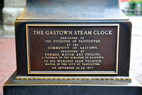 The Gastown Steam Clock Plaque