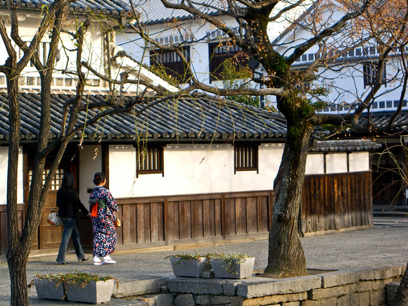 Past and present in Kurashiki