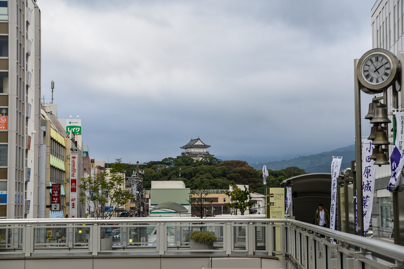 View from Odawara Station