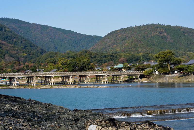 Katsura-gawa (Katsura River) and Togetsukyō