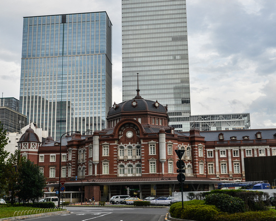 Entrance to Tokyo Station