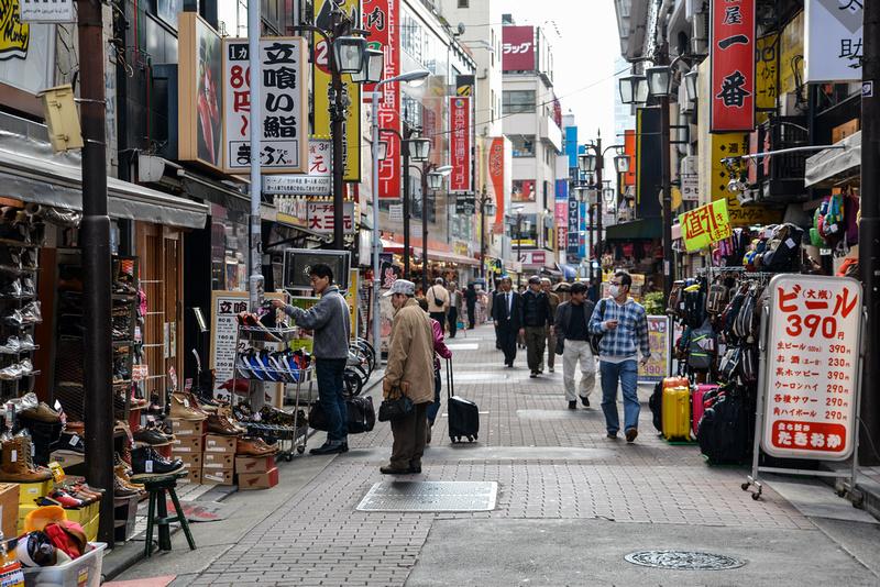 Ueno, shopping and bargains