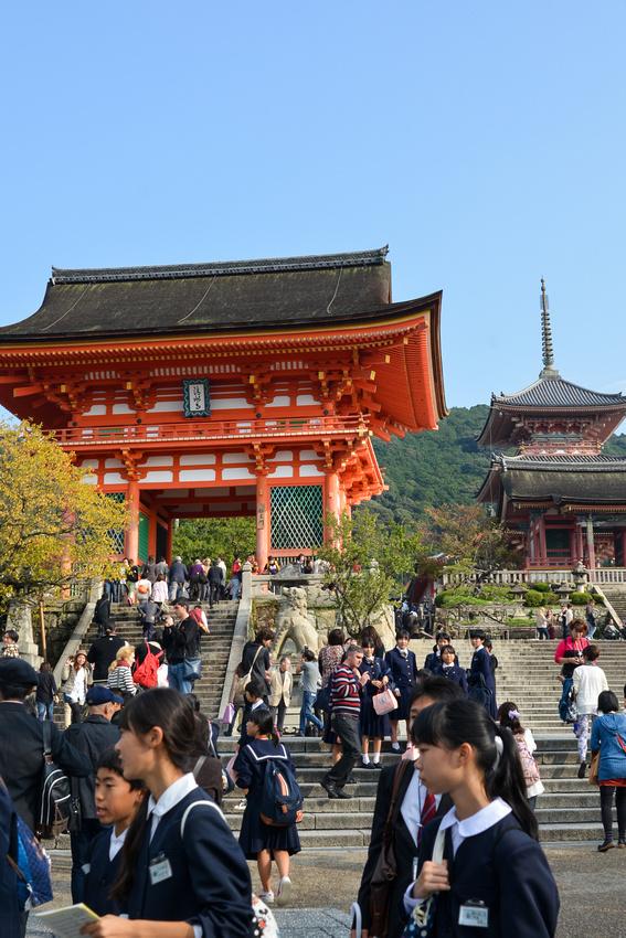 Deva Gate and Pagoda at Kiyomizu-dera