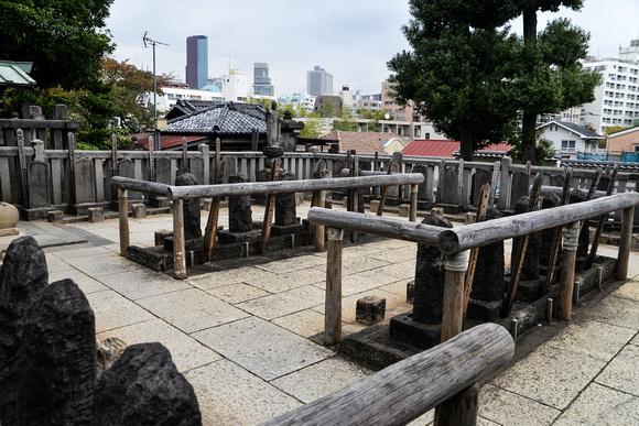 Cemetery of the 47 Ronin - Sengakuji