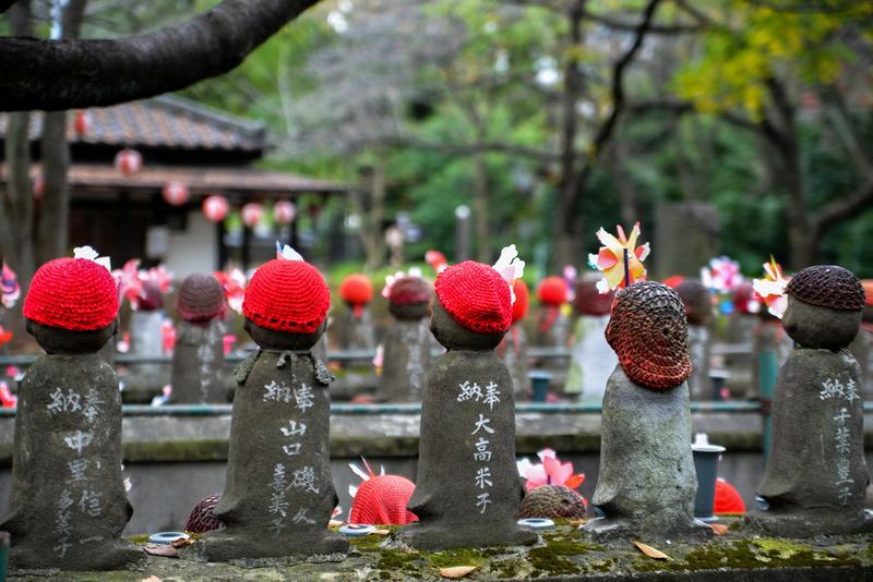 O-jizo-sama at Zojo-ji Temple
