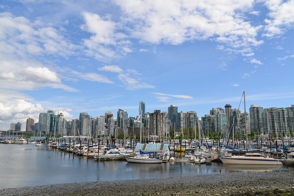 Vancouver Harbour and Cityscape