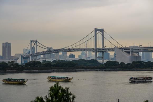 Rainbow Bridge and Tokyo Bay