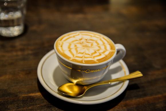 Latte at Ogawa Coffee