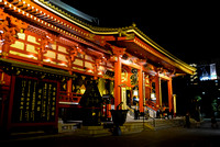 Sensoji Main Hall at Night