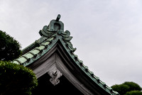 """Japanese architecture"" 日本建築 - Roof at Hase-dera"